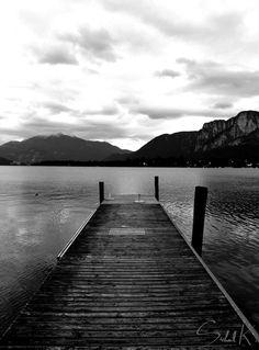 dark lake photography
