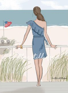 Bienvenido verano playa casa Art arte para las mujeres