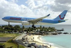 """Airplanista Aviation Blog: Surf, Sand and [Plane]Spotting: Where """"Low Flying Aircraft"""" Takes on a More Urgent Meaning"""