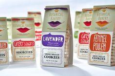 botanical bakery packaging