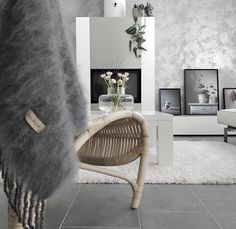 Balmuir Kid Mohair throw is a fabulous element for your interior design. It keeps you warm and comfortable in cool evenings of autumn and winter time. Mohair Throw, Interior Decorating, Interior Design, Home Textile, Interior Inspiration, Textiles, Blanket, Grey, Kids