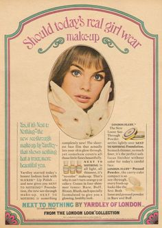 For the Love of 60's & 70's Advertising...: Jean Shrimpton