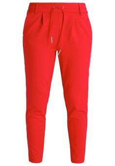 ONLY ONLPOPTRASH Jogginghose tango red Bekleidung bei Zalando.de | Material Oberstoff: 63% Viskose, 32% Nylon, 5% Elasthan | Bekleidung jetzt versandkostenfrei bei Zalando.de bestellen!