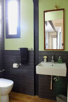 An Old Attic Is Transformed Into A Gorgeous Apartment Bathroom - An old attic is transformed into a gorgeous apartment