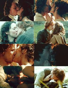 ~ Jamie & Claire | Give me a thousand kisses ~