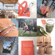 FYT Flashpacking Essentials – #Summer #Greece #Italy #Coral #Green #Mantraband #Books #Yoga #Bag #Accessories #Bracelet #SanGiorgioMykonos  www.follow-your-trolley.com