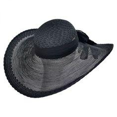 Karen Keith Sheer Brim Swinger Hat