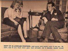 Los mejores consejos para mujeres solteras, cortesía de los años 30: ¿Cómo tener una cita exitosa?