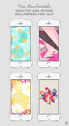 Add a splash of color and style to your phone screen for July with these free downloadable desktop and iPhone wallpapers. Download these July digital wallpapers on Think.Make.Share., a blog from the creative studios at Hallmark!