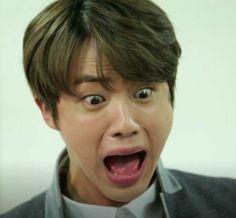 """""""you sure she's just your bias?"""" """"hyung, i've t… # Fanfictie # amreading # books # wattpad Bts Jin, Bts Taehyung, Jimin, Bts Derp Faces, Meme Faces, Funny Faces, Bts Memes Hilarious, Bts Funny Videos, Seokjin"""