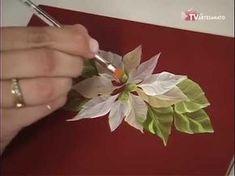 Mulher.com 06/11/2014 - Pintura Ramalhete de Tulipas por Ana Maria Guimarães - Parte 1 - YouTube