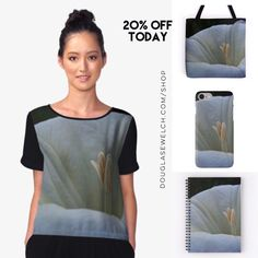 """Get 20% Off On Everything Today including these """"Datura Flower"""" Tops, Totes, Cases and More!  http://welchwrite.com/blog/2017/02/20/get-20-off-on-everything-today-including-these-datura-flower-tops-totes-cases-and-more/#sthash.1MT6Ggdz.dpuf  #datura #flowers #garden #nature #products #cards #clothing #arts #crafts #technology #iphone #samsung #cases #bags #totes #photography #prints #home #housewares #clocks #journals #pillows #clocks #mugs #shop #shopping #redbubble"""