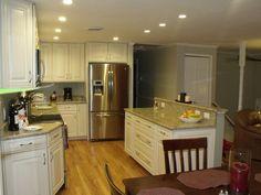 DIY split entry kitchen remodel | Split Foyer Kitchen Reno - Houzz