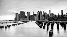 New York Skyline by Célia Brockly, 500px