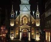 History of Montreal's oldest chapel Of Montreal, Chapelle, Pilgrimage, Family Travel, Notre Dame, Barcelona Cathedral, History, Night, Family Trips