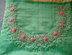 For Order, Call or Whatsapp on or visit insta page WOMN CLOTHING. we are designer studio specialized in custom designer dresses. No CASH ON DELIVERY, worldwide delivery. Embroidery On Kurtis, Kurti Embroidery Design, Embroidery Neck Designs, Hand Embroidery Flowers, Embroidery Works, Embroidery Suits, Embroidery Fashion, Ribbon Embroidery, Embroidery Patterns