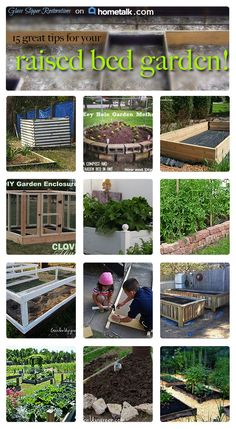 Get inspired from these raised bed gardens!