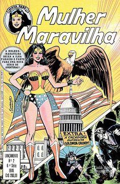 Mulher-Maravilha (Lançamento) 6ª Série - n° 2/Ebal | Guia dos Quadrinhos