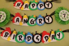 """Photo 3 of 92: Angry Birds / Birthday """"Brandon's 7th Angry Birdsday"""" 