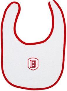 Bradley Braves Newborn Bib