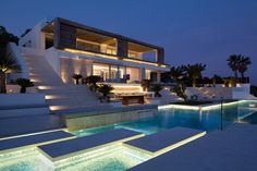 Architecture firm SAOTA, together with interior designers ARRCC, have designed Roca Llisa, a home located in Ibiza, Spain.