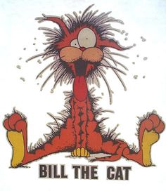 bloom county / bill the cat t-shirt - Cat Tshirt Bill The Cat, American Cocker Spaniel, Custom Made T Shirts, Funny Animal Memes, Funny Animals, Funny Quotes, Books For Teens, How To Make Tshirts, Vintage Comics