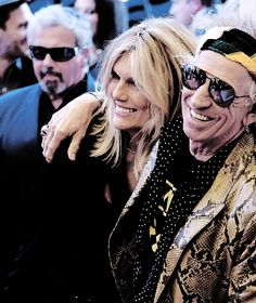 Keith Richards an Patti Hansen attend the 'Keith Richards: Under The Influence' premiere during the 2015 Toronto International Film Festival at Princess of Wales Theatre on September 17, 2015 in Toronto, Canada. © Isaiah Trickey.