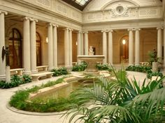 inside the Frick museum