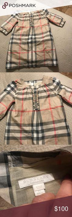 Little girl Burberry dress sz 4 EUC Burberry Dresses Casual