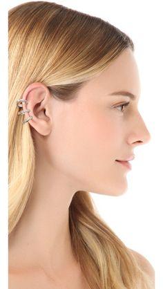 Compre os materiais necessários para fazer seu próprio ear cuff na www.lourisbijoux.com.br.