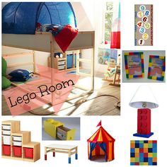 Lego Children's Room Decor - Krystal's Kitsch: Sanibel, Cape Coral, Florida Lifestyle Blogger