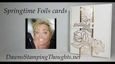 Springtime Foils cards - YouTube