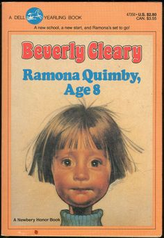 Ramona. I read this in elementary school.