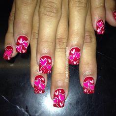 VALENTINE by orchidnailsandspa #nail #nails #nailart