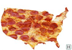 Looks like pepperoni pizza is a national favorite