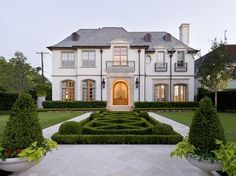 NORMANDY | front elevation traditional exterior