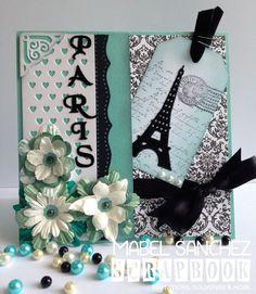 Stamping Paper: Card París