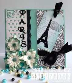 Stamping Paper: Card París