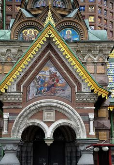 The Church of Our Savior on Spilled Blood, St Peterburg, Russia