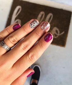 Get Nails, Fancy Nails, Love Nails, Pink Nails, How To Do Nails, Hair And Nails, Nail Color Combos, Nail Colors, Sinful Colors
