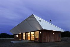 achievable energy efficiency with a weird roof design!