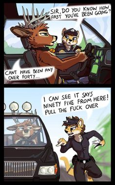 Cheetah makes excellent police officers.