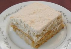 Délice à l'érable Desserts With Biscuits, Cold Desserts, Cookie Desserts, No Bake Desserts, Easy Desserts, Dessert Recipes, Paleo Dessert, Canadian Cuisine, Canadian Food