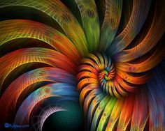 Rooster Tail Spiral by wolfepaw on DeviantArt