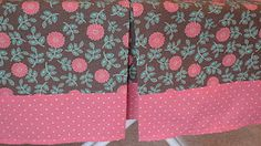 Easy DIY Box Pleat Crib Skirt Tutorial!