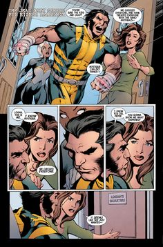 This is first page of interior preview art for Wolverine (2013) #9, drawn by Alan Davis. Marvel Memes, Marvel Dc, Comic Books Art, Book Art, X Men Funny, Comic Book Panels, Tumblr Funny, Funny Memes, Comic Artist