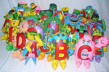 Who remembers the alphabet letter people from kindergarten??