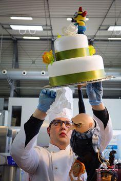 Daniel Filipovici - Composizione torta Cattivissimo Me