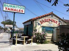 10 Old So Cal restaurants  10. Sarinana's Tamale Factory in Santa Ana -- 1939