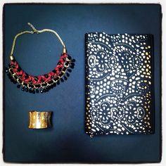 Golden accessorizes